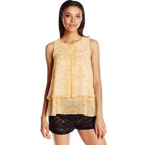 BCBGeneration silk blouse xxs